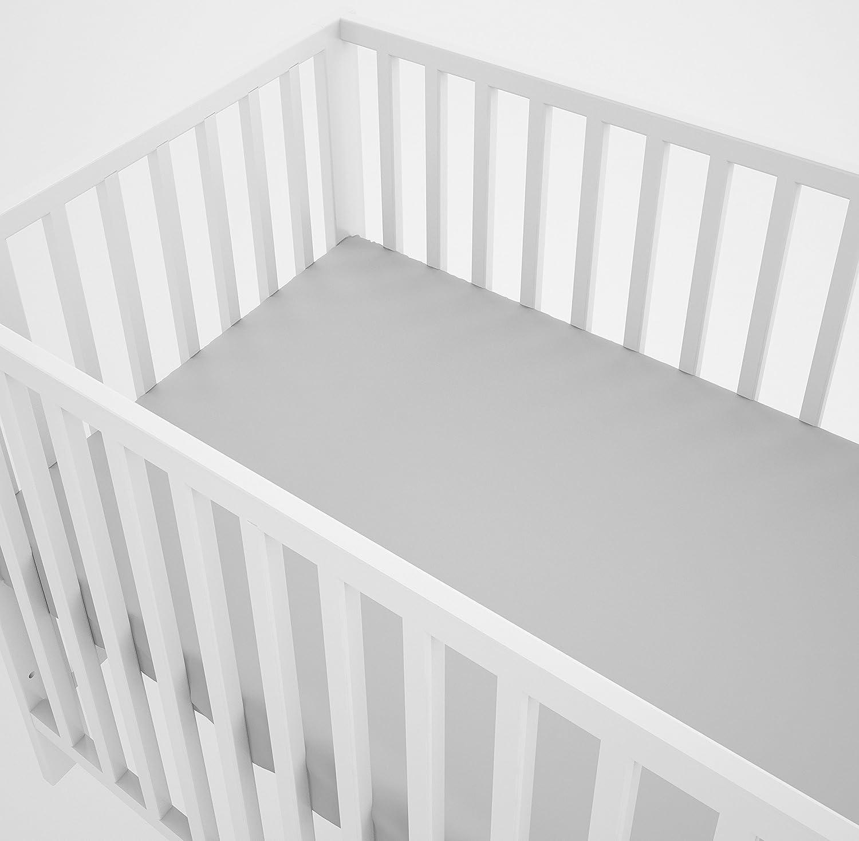 sechs Kissen samt Bez/ügen f/ür das Babybett 60 x 120 cm Babybett-W/äsche 90 x 120 cm mit Spannbettlaken und Kissen-Nestchen 3-teiliges Set