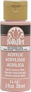 product image for FolkArt 2565 Acrylic Paint, 2 Ounce, Crushed Coral