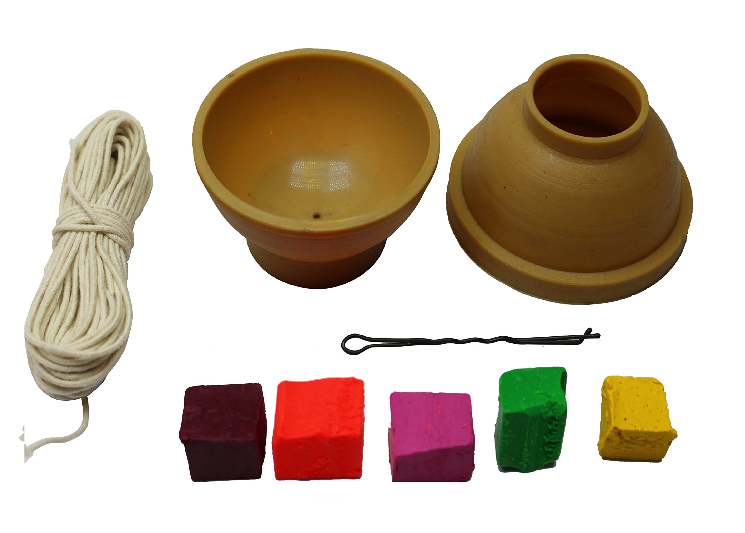 Mini set - Candle dye 5 color and Candle mold make candles at home