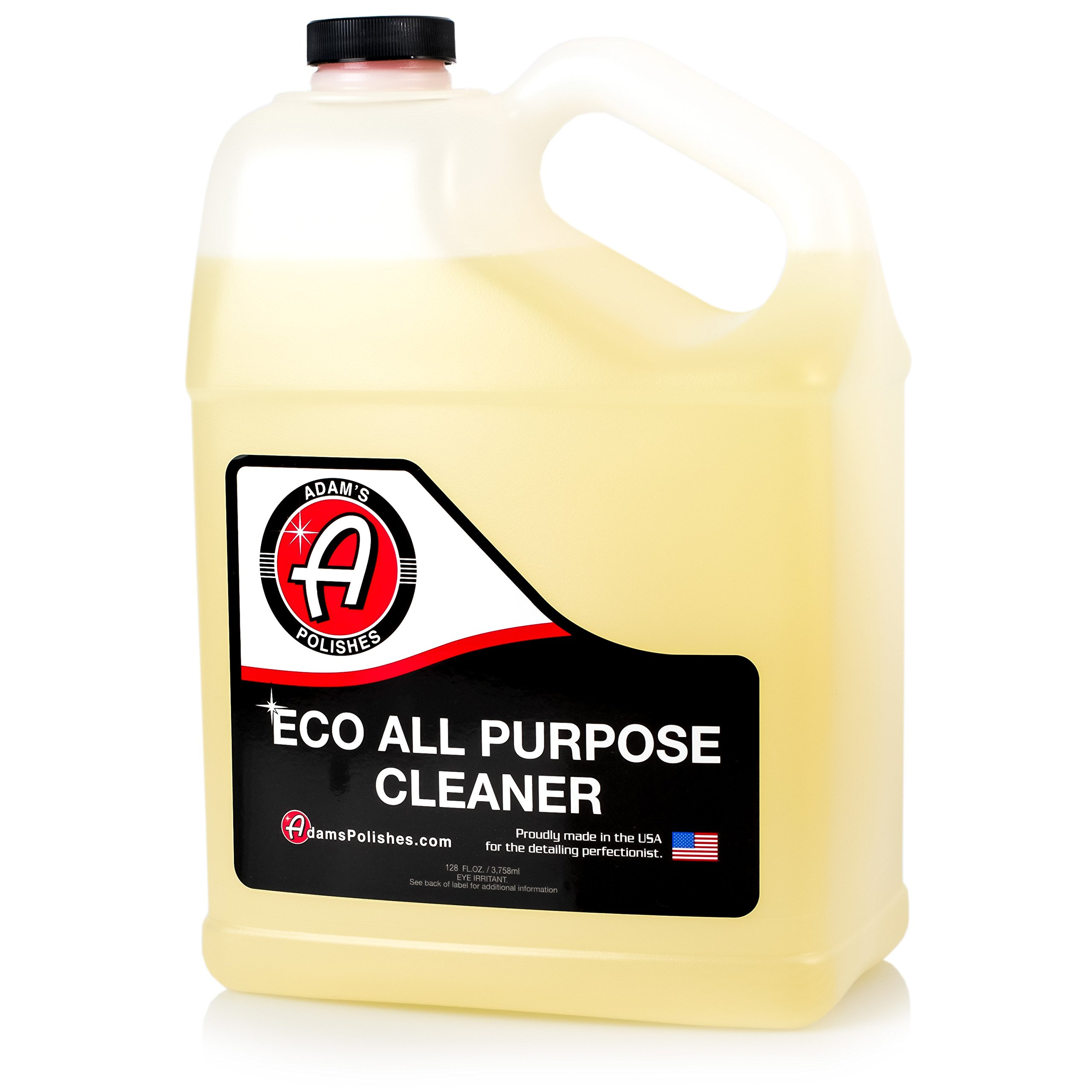 Adam's ECO All Purpose Cleaner Gallon - Industrial Strength, Concentrated Formula Can be Diluted Down - Tough on Dirt but Easy on Your Car, You, and The Environment by Adam's Polishes