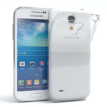 EAZY CASE Hülle für Samsung Galaxy S4 Mini Schutzhülle Silikon, Ultra dünn, Slimcover, Handyhülle, Silikonhülle, Backcover, D