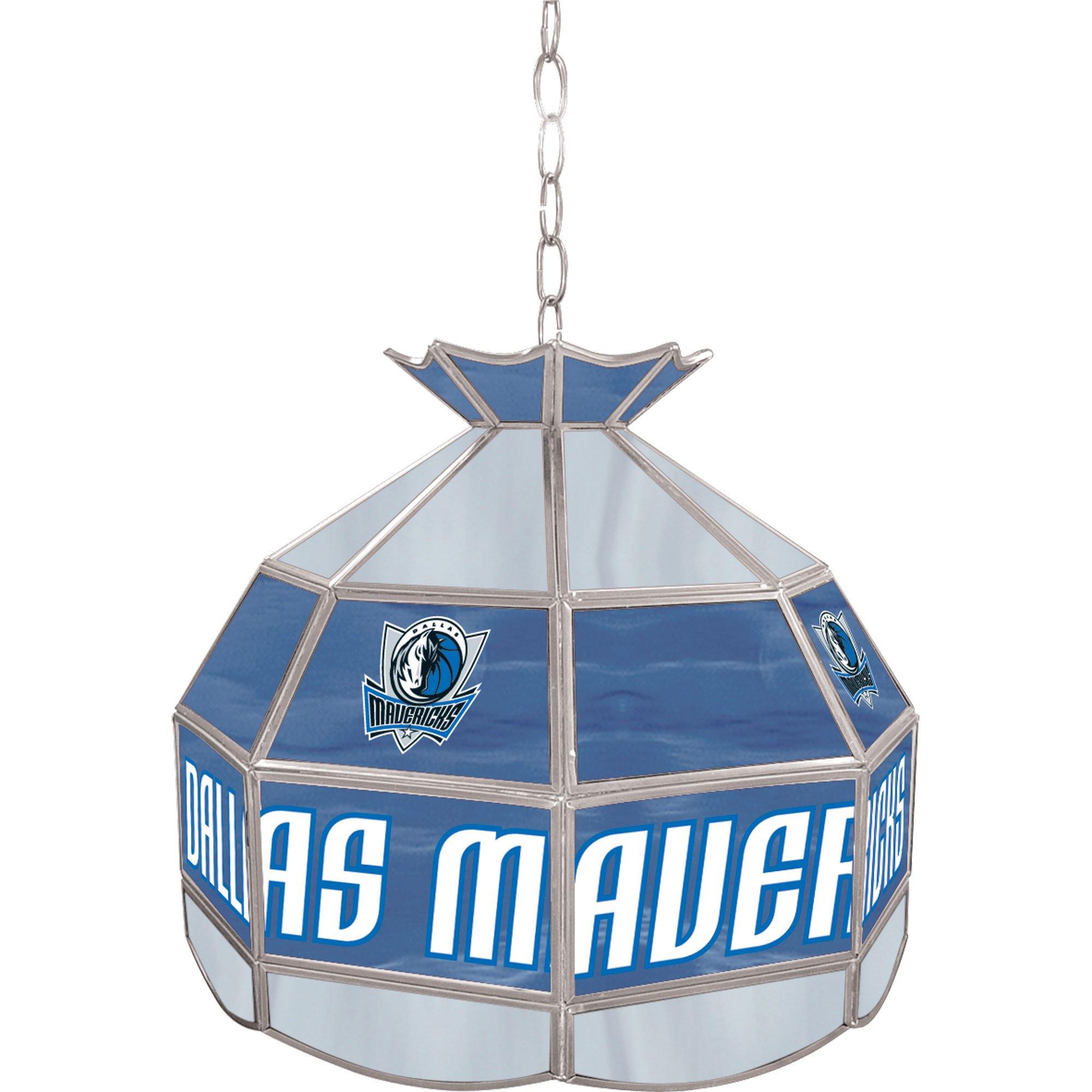 NBA Dallas Mavericks Tiffany Gameroom Lamp, 16''