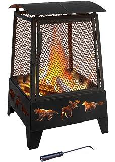 Amazon Com Landmann Usa 28925 Ball Of Fire Outdoor Fireplace