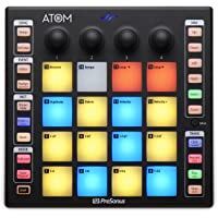 PreSonus ATOM controlador de producción y rendimiento con software Studio One Artist