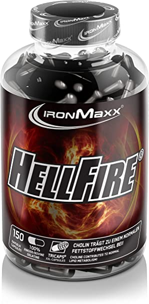 ironmaxx hellfire fat burner
