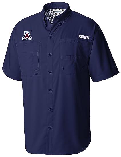 063c7b625e3 Columbia NCAA Arizona Wildcats Men's Tamiami Polo, Large, ...