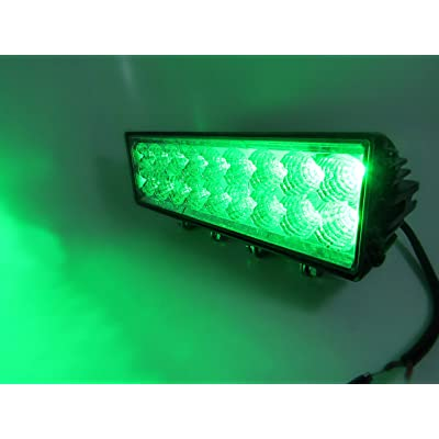 11 inch Green LED Hunting Light Bar: Automotive