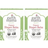 Organic Diaper Balm by Earth Mama | Safe Calendula Cream to Soothe and Protect Sensitive Skin, Non-GMO Project Verified…