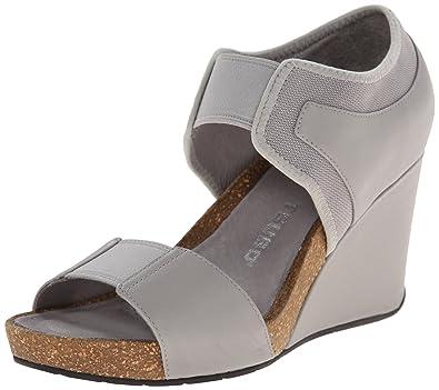 TSUBO Women's Norra Wedge Sandal, Ice, ...