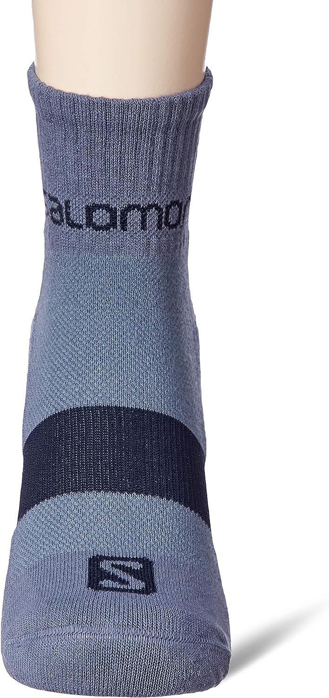 Cotton//Polyamide SALOMON 2 Pairs of Unisex Ankle Socks Evasion 2-Pack