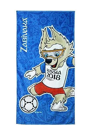 FIFA offiz Russia WM 2018 Fútbol Toalla Toalla zabivaka World Cup Towel: Amazon.es: Deportes y aire libre