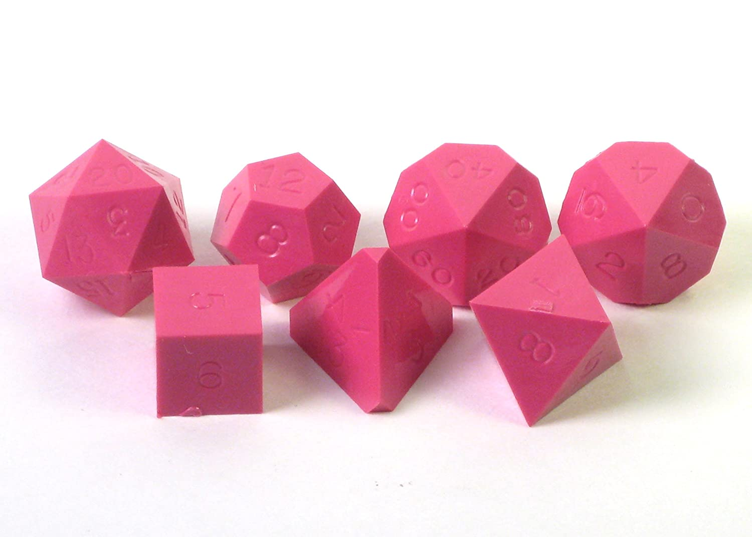 GameScience: Polyhedral 7-Die Set - Opaque Un-Inked