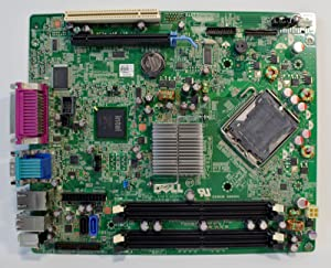 New DELL Optiplex 760 Desktop SFF Main Logic Integrated Intel Chipset System Pentium/Celeron CPU Processor Socket LGA775 DDR2 SDRAM Dimm Memory Expansion Slots PCI Express VGA/USB/Serial/Parallel/ESATA/RJ45 Lan Performance M863N Motherboard F373D