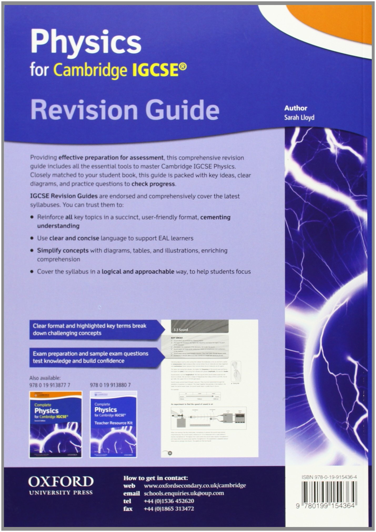 Buy Cambridge Physics Igcse Revision Guide Book Online At Low Prices This Would Be Part C Ofsection 2 Electricity Of The In India Reviews Ratings