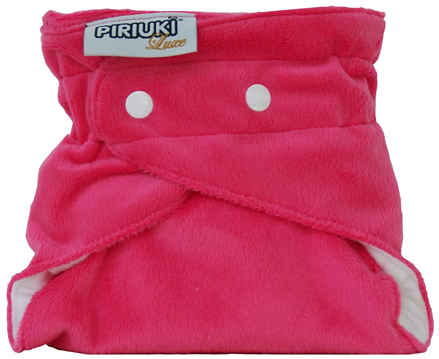 Piriuki Luxe Reusable Pocket Diaper (Pink) pu64734