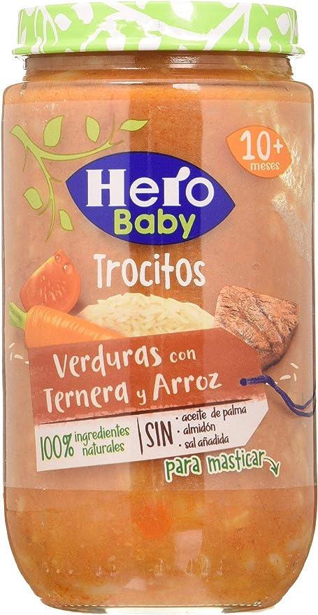 Hero Baby Tar Troc Verdura Tern Arroz Hb 235G 12U 4520 g: Amazon.es: Alimentación y bebidas
