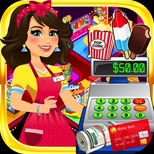 Supermarket Movie Cashier: Kids Shopping Games & Cash