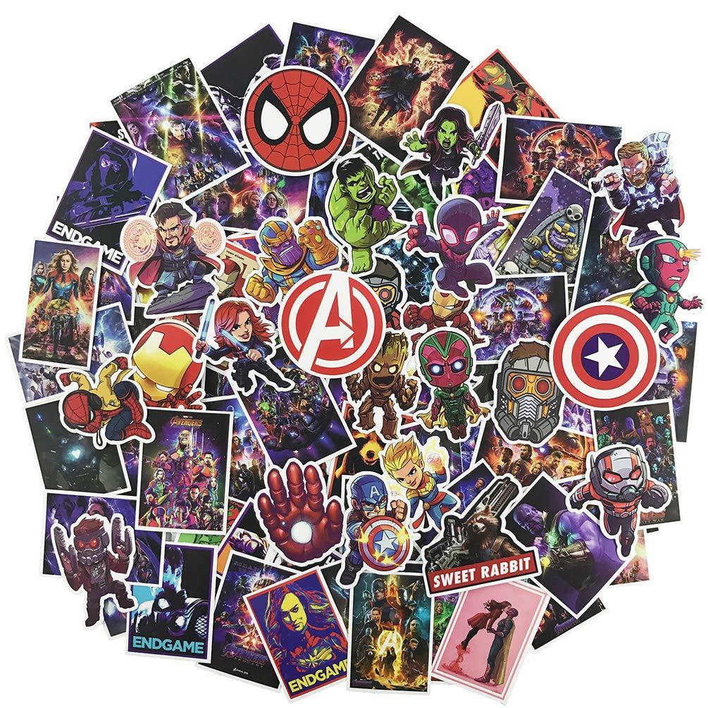 Stickers Calcos 95 Un. Avengers Superheroes (7rpkk3t3)