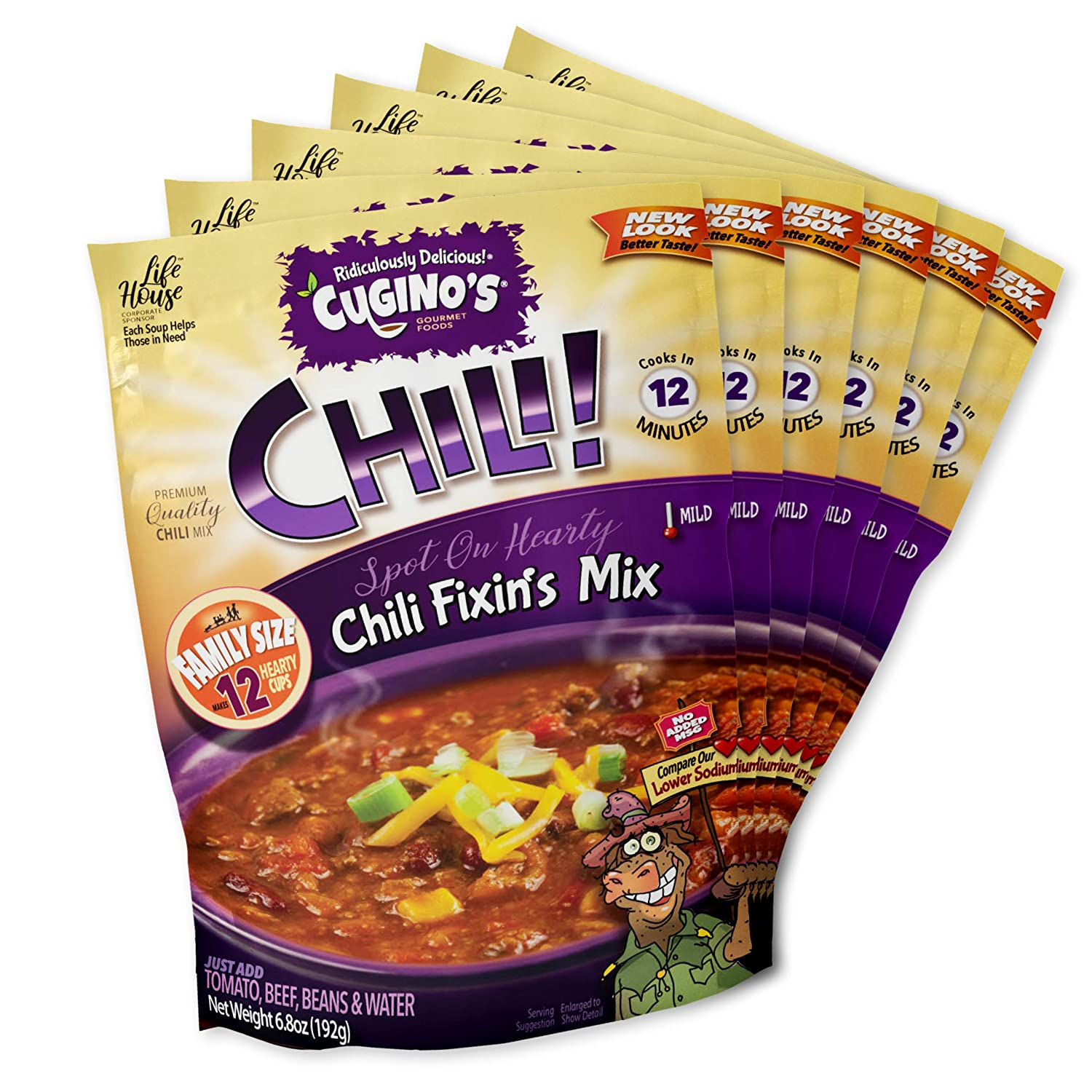 Cugino's Chili Fixin's Mix (Pack of 6)