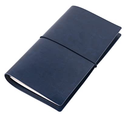 amazon com small refillable travel journal blank writing notebook