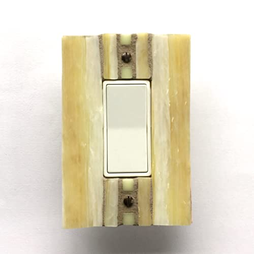 Amazon.com: Decorative Light Switch Covers, Yellow Switch Plate ...