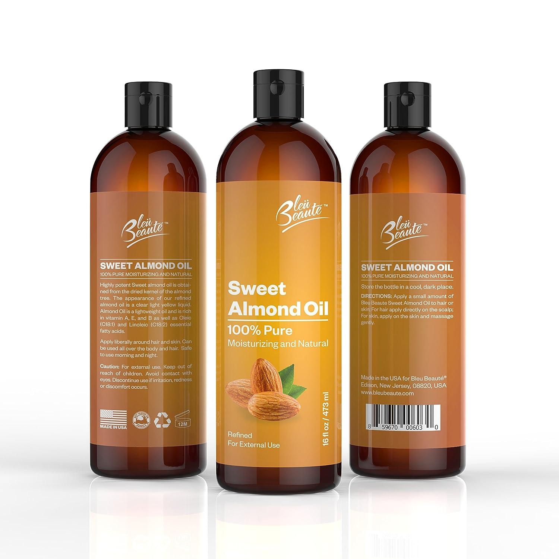 Sweet Almond Oil for Hair