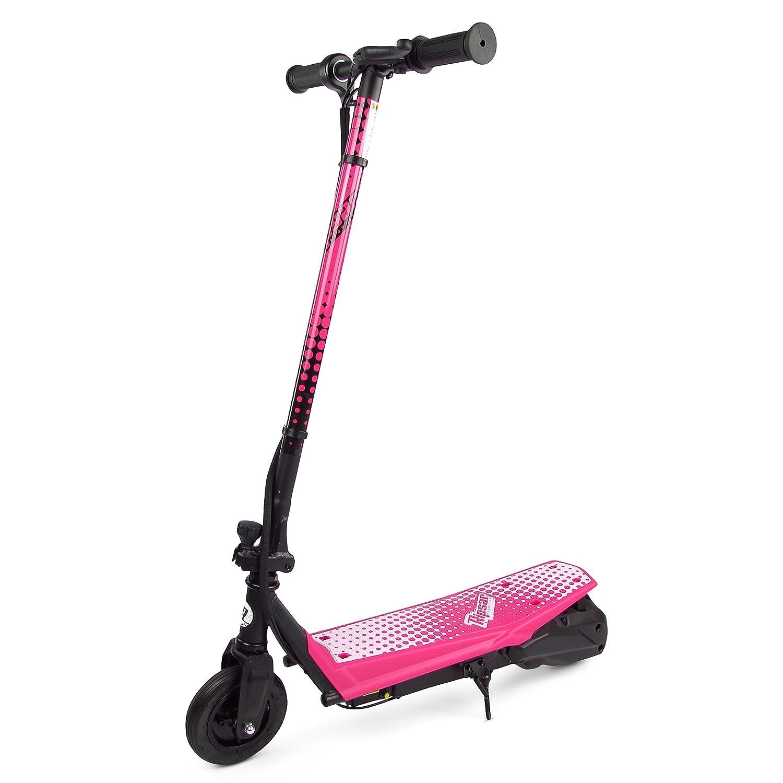 Elektroroller Ripsar R100 Rosa mit Luftreifen und höhenverstellbar 5060365745102