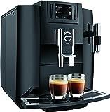 Jura E80 15083 Bean-to-cup Coffee Machine Piano - Black