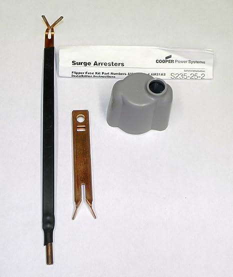 Amazon com : Cooper Flipper Fuse Cutout Kit AM21A1