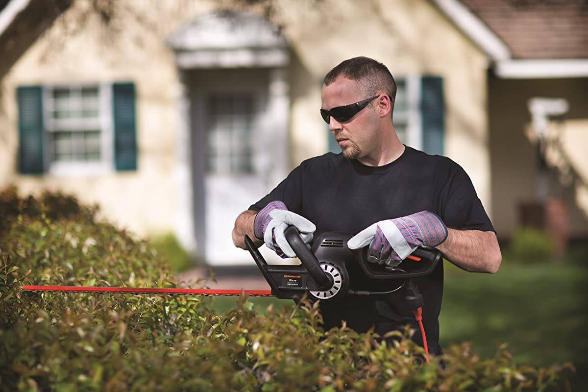 Remington RM5124THDual Action 5 Amp 24-Inch Electric Hedge Trimmer with Titanium Blades