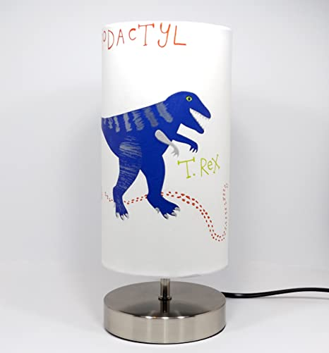 Dinosaur lamp light lampshade bedside table desk lamp lamps night dinosaur lamp light lampshade bedside table desk lamp lamps night light boys bedroom nursery accessories t mozeypictures Gallery