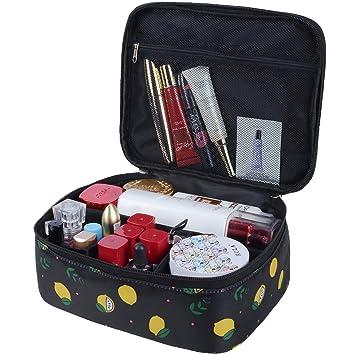 Amazon.com: Bolsas de maquillaje portátil de viaje ...