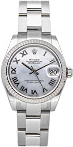 Rolex Datejust Mechanical (Automatic) Mother-of-Pearl Dial Womens Watch 178274 (Pre-Owned)