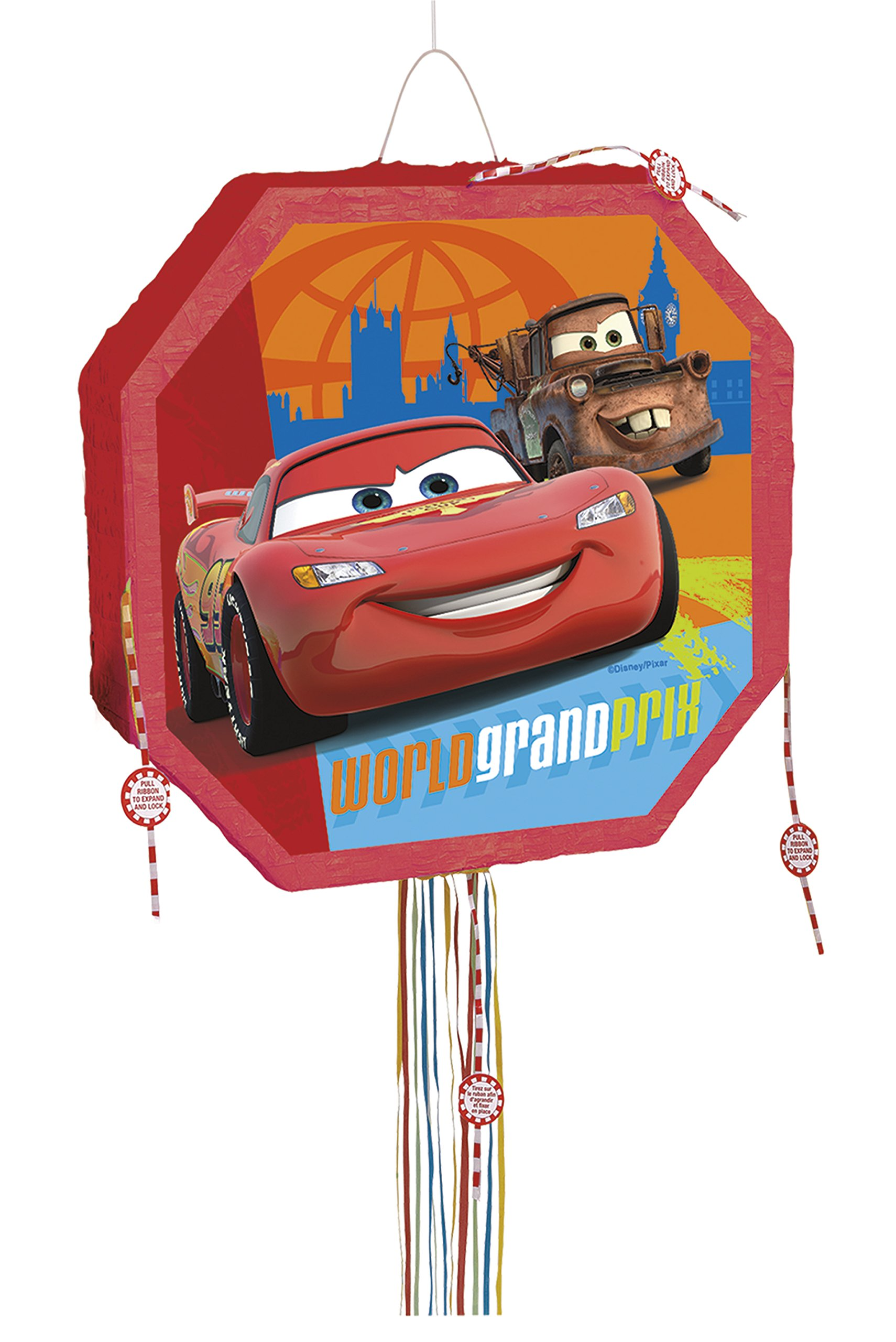 Disney Cars Pinata, Pull String