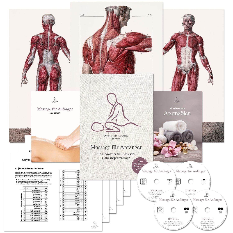 Massage für Anfänger: Ein Heimkurs für klassische Ganzkörpermassage ...