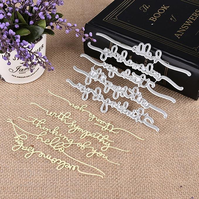 Key Chain Die Cut Cutting Dies Stencils Scrapbook Embossing Photo Album Craft