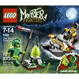 Lego Monster Fighters 9461 The Swamp Creature (Green)