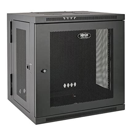 Tripp Lite 12U Wall Mount Rack Enclosure Server Cabinet, Hinged, 20.5u0026quot;  Deep,