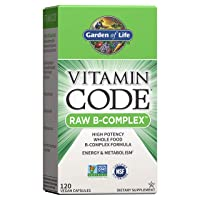 Garden of Life Vitamin B Complex - Vitamin Code Raw B Vitamin Whole Food Supplement...