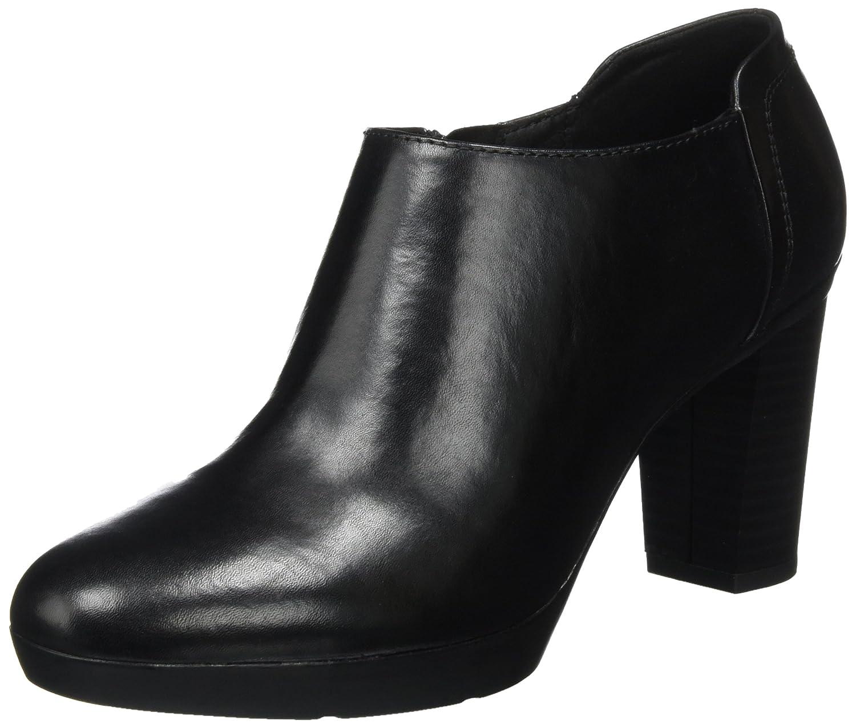 TALLA 38 EU. Geox D Inspiration Plateau C, Zapatos de Tacón para Mujer