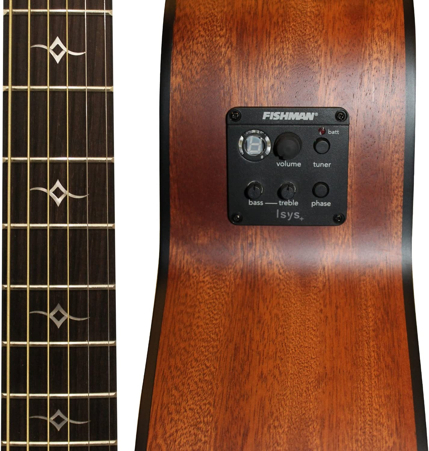 Sawtooth Mahogany Series Left-Handed Solid Mahogany Top Acoustic-Electric Parlor Guitar