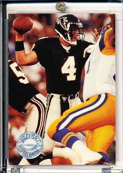 Amazoncom 1991 Pro Set Platinum Brett Favre Rookie Card