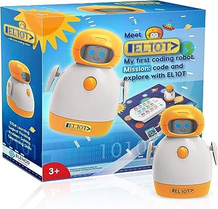 Amazon Com Elenco Teach Tech El10t My First Coding Robot Toys Games