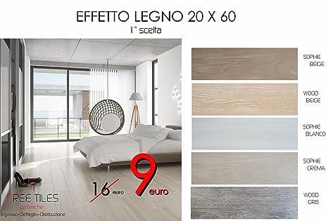 Pavimenti Finto Legno Bianco : Campione:piastrelle pavimento gres rosso 20 x 60 effetto legno 1