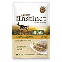 True Instinct No Grain Pack de 8 Pâtés Poulet aux Légumes pour Chat 70 g