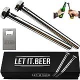 Beer Chiller Sticks for Bottles - Great Christmas Gift - Birthday Gifts for Men and Women - Beer Gift Ideas for Men - Bday Ga