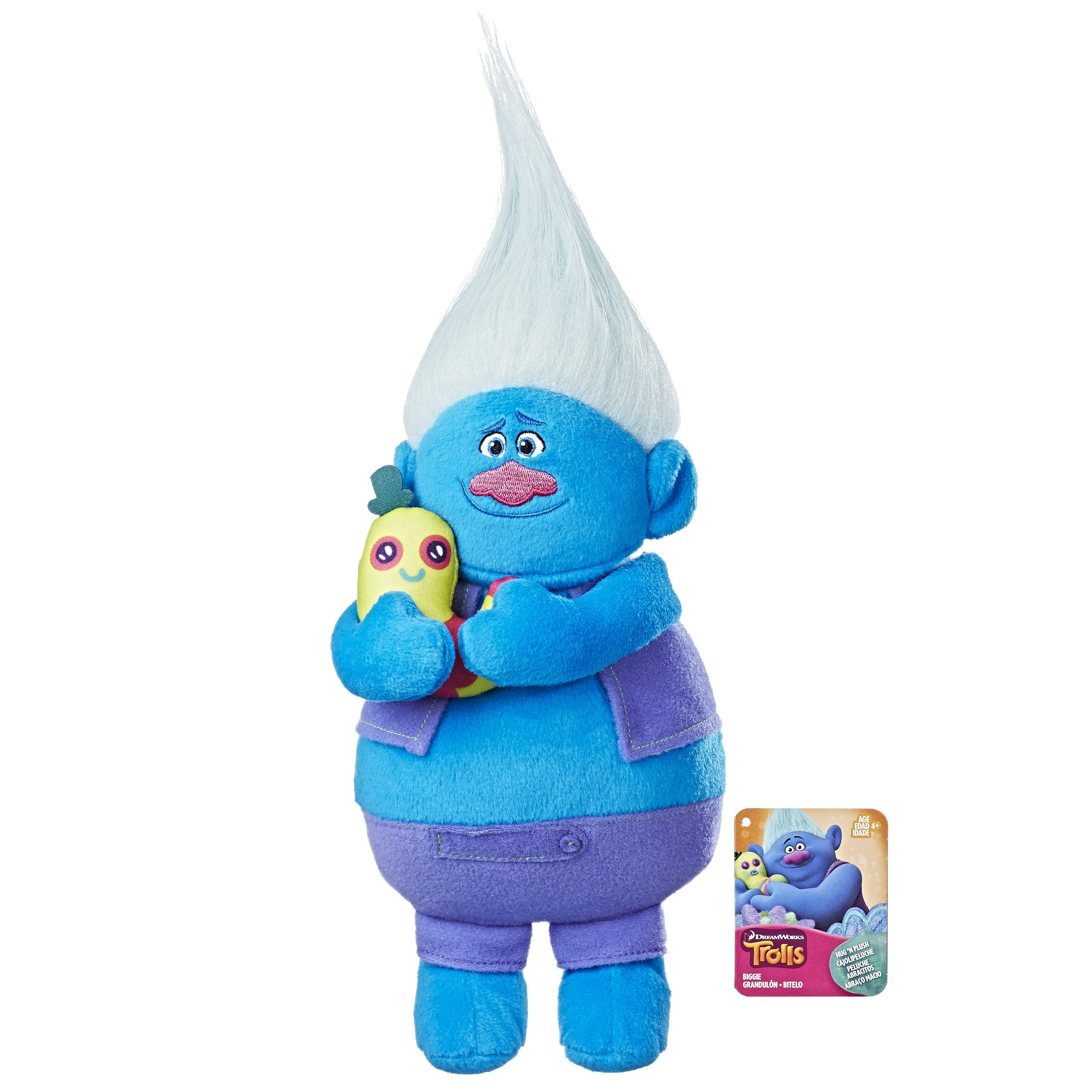 Trolls DreamWorks Biggie Hug N Plush Doll