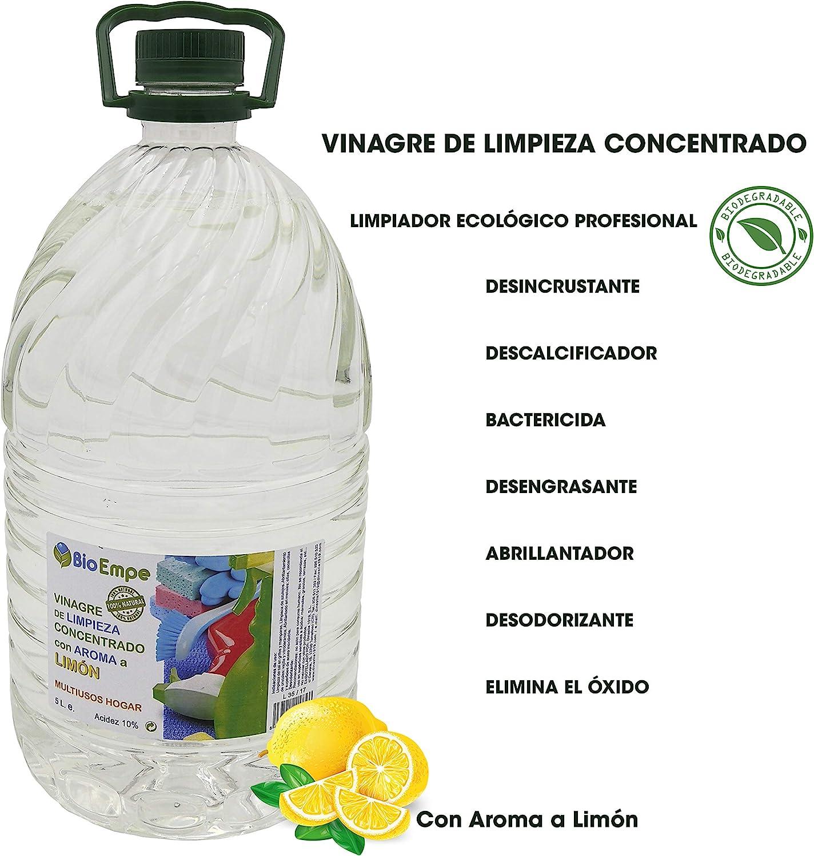 Vinagre de Limpieza Concentrado Profesional al 10%, con Aroma a ...