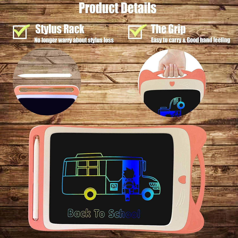 Tavoletta Trafica Pad Elettronico Portatile Una Chiave da Usare per Scuola Famiglia Ufficio Regalo Orimi Tablet LCD da 12 Pollici a Colori LCD 12 Pollici, Blu Chiaro