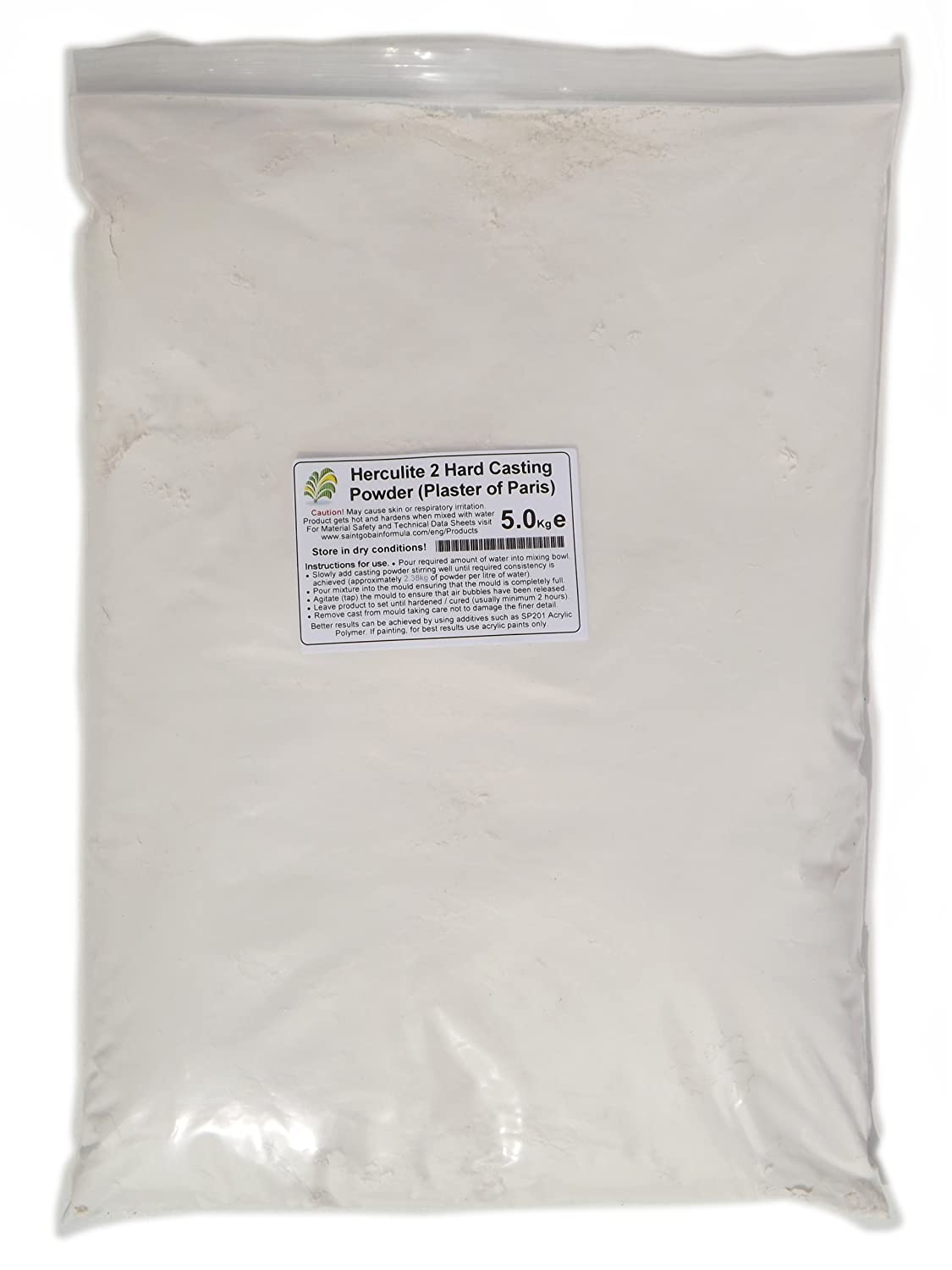 10kg Herculite 2 - Plaster of Paris Saint Gobain
